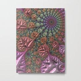 funky fractal Metal Print