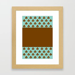 MINT CHOCOLATE Framed Art Print