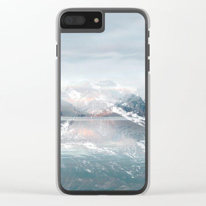 Sunken Snow Clear iPhone Case