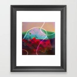 abstract 006. Framed Art Print