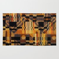 art deco Area & Throw Rugs featuring art deco by clemm