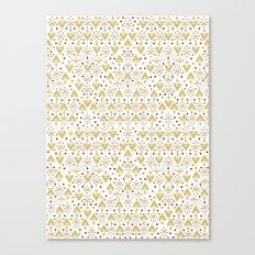 Geometric Diamond repeating Canvas Print