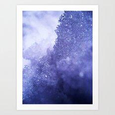 Ice Mountain Art Print