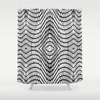 bar Shower Curtains featuring Beauty Bar by David Louis Klein