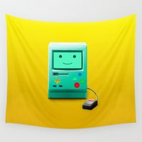 bmo Wall Tapestries featuring BMO by Karolis Butenas