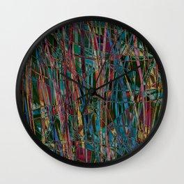 Festive Abstract  Wall Clock