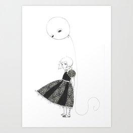 Ba-la-lloon Art Print