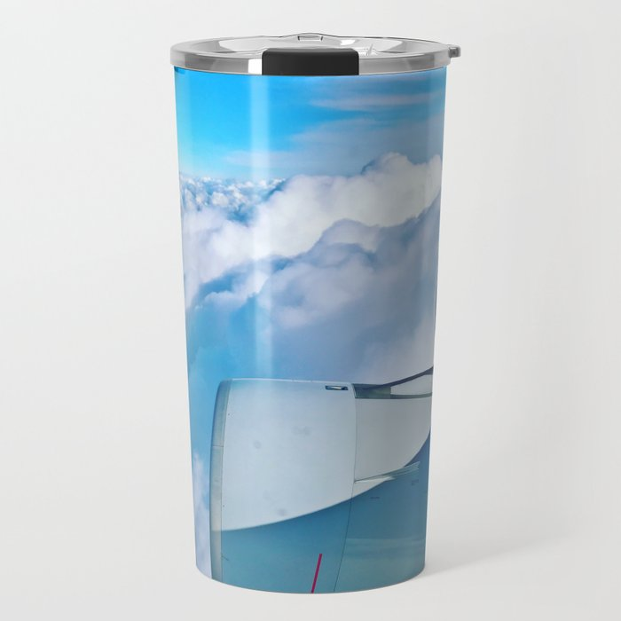 Lufthansa Flight from Munich to LAX, November 2017 Travel Mug