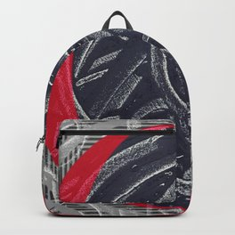 Junction- red graphic Backpack
