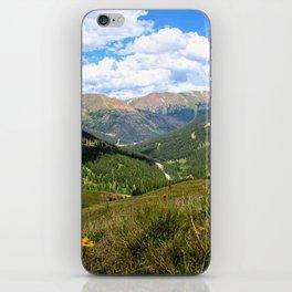 Colorado Wildflowers iPhone Skin