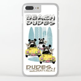 Beach Dudes Vol2 SWAG Clear iPhone Case