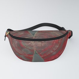 Ominous Red Fanny Pack