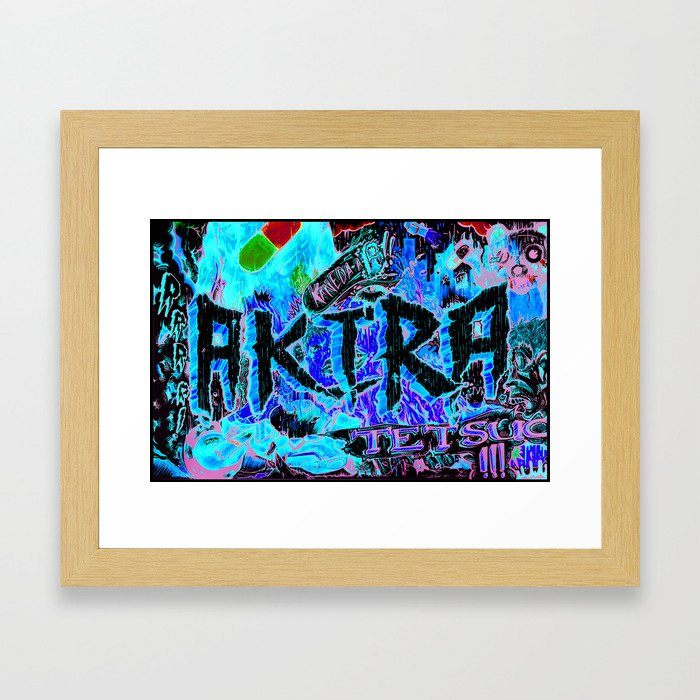 A Fish out of Water Dies Framed Art Print