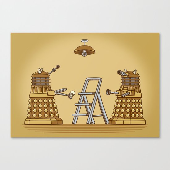 Dalek DIY Canvas Print