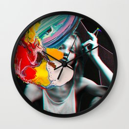 Deeply ordered chaos Wall Clock