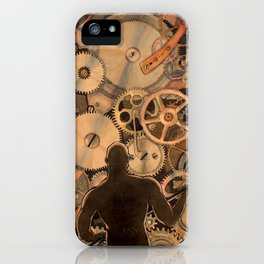 Steel Drivin' Man iPhone Case