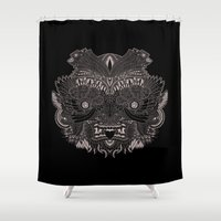 infinite Shower Curtains featuring Infinite by tornadador