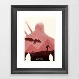 Witcher Framed Art Print