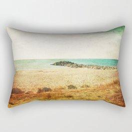 Beach in southern France - summer memories Rectangular Pillow
