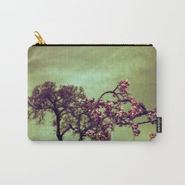 Redscale Blossom Carry-All Pouch