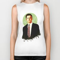 dale cooper Biker Tanks featuring Cooper by chazstity
