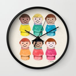 Little Girls Wall Clock