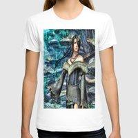 final fantasy T-shirts featuring Lulu Final Fantasy 10 by Joe Misrasi