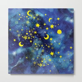 Stars That Can Laugh Metal Print