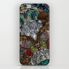 Psychedelic Botanical 13 iPhone & iPod Skin