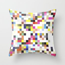 Love Pixel Throw Pillow
