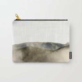 Mountains in the clouds Carry-All Pouch
