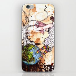 No longer in your World iPhone Skin