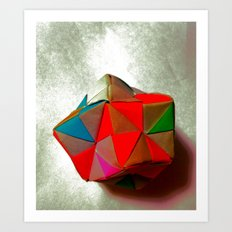 Origami +++ Art Print
