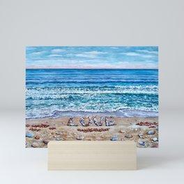 Ocean Waves of Love Mini Art Print