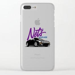 Net's Garage Clear iPhone Case