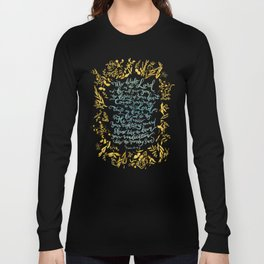 Take Delight in the Lord- Psalm 37:4-6 Long Sleeve T-shirt