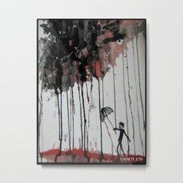 Braindrops Metal Print