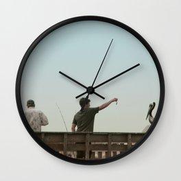 Here Birdie Birdie Birdie Wall Clock