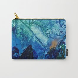 Sea Leaves, Tiny World Collection Carry-All Pouch