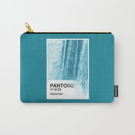 PANTONE SERIES – WATERFALL Carry-All Pouch
