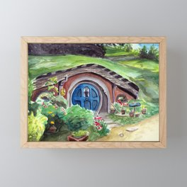 Cozy Little Dwelling Framed Mini Art Print