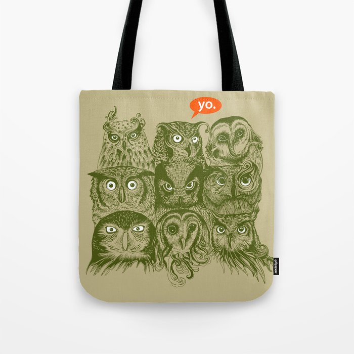 Wisdom to the Nines Tote Bag
