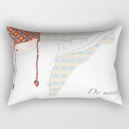 Do myself Rectangular Pillow
