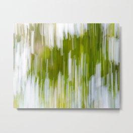Bright Nature Sweep Metal Print