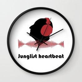Junglist heartbeat - Men Wall Clock