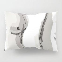 Nude Belly Pillow Sham