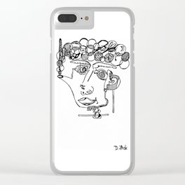 Abstraction 26.0 Clear iPhone Case