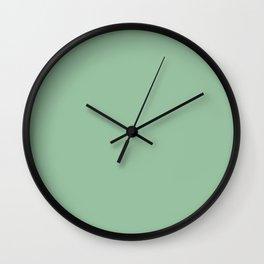 Hemlock Color Accent Wall Clock