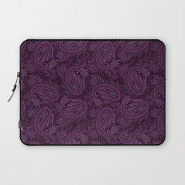 Meredith Paisley - Purple Laptop Sleeve