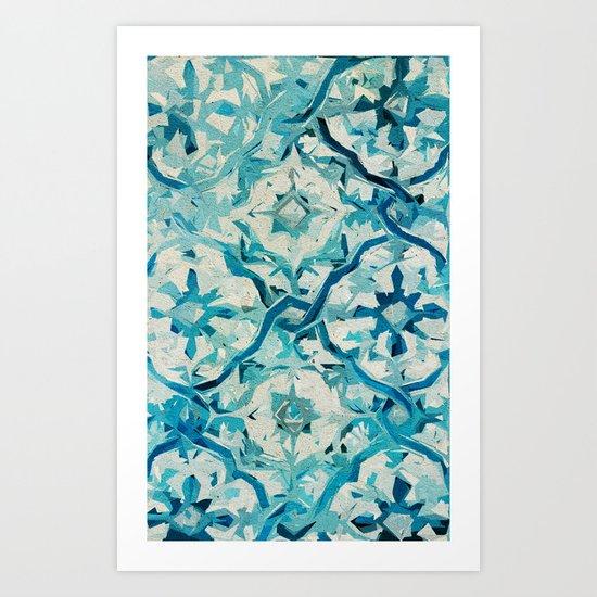 Forgetting Winter Art Print